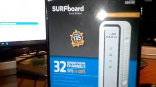 review arris sb6190 first gigabit plus cable modem