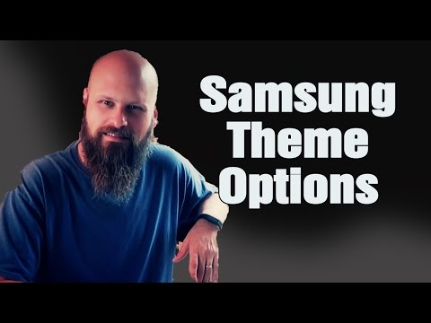 Samsung Galaxy S7 And S7 Edge Theme Options