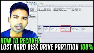 How to recover missing hard disk partition without loosing data | Lost Partition After Format FIXED