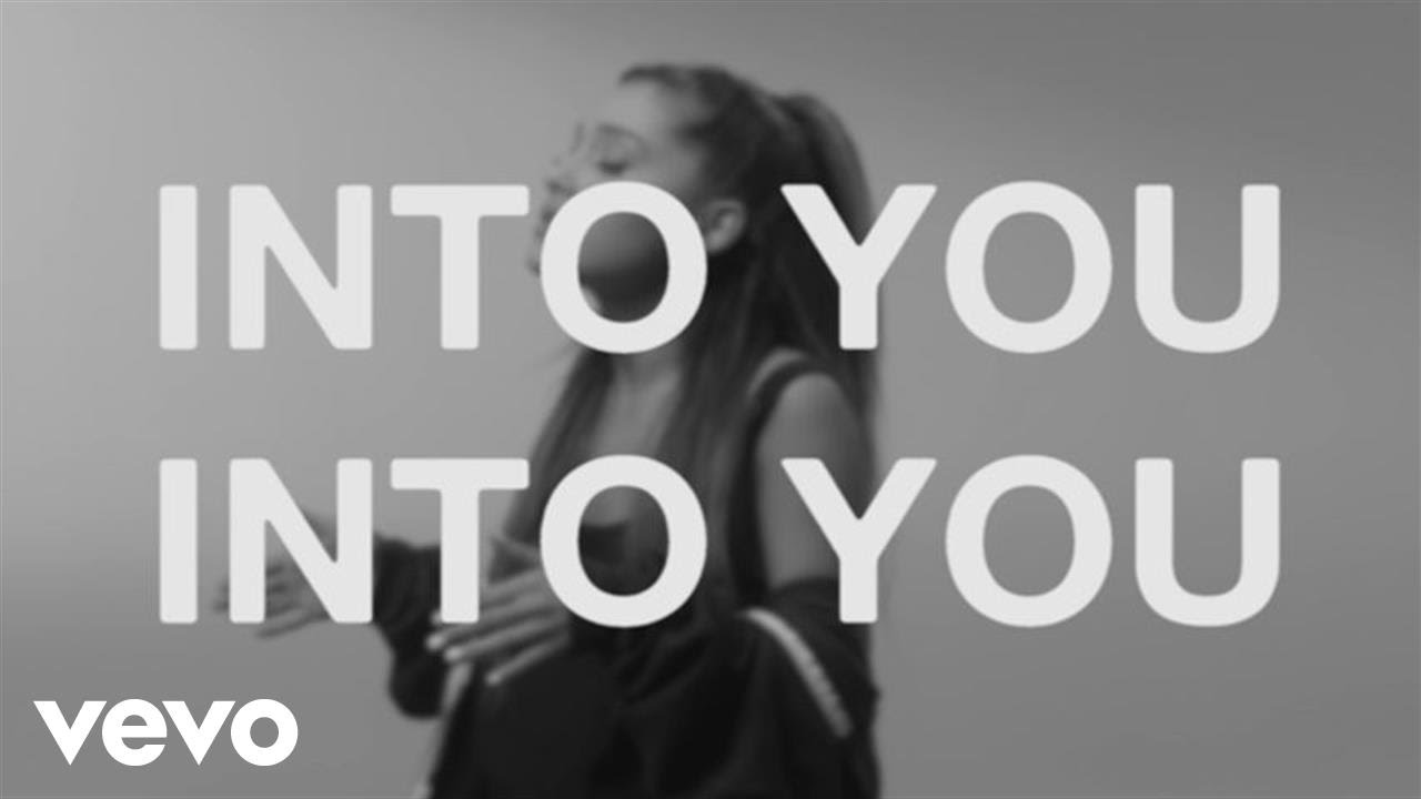 Ariana Grande - Into You (Lyric Video)