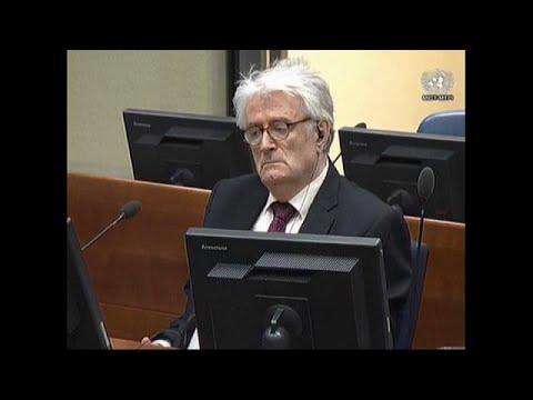 Radovan Karadzic asks UN Judges to overturn genocide conviction