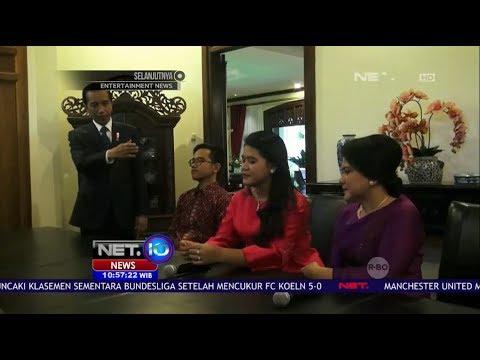 Jumpa Pers Pernikahan Kahiyang Ayu, Putri Presiden Jokowi - NET10