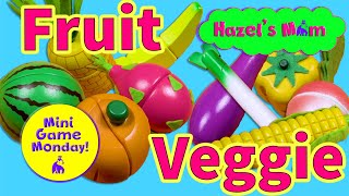 Learning Fruits and Vegetables | Matching Game | Educational Videos for Toddlers