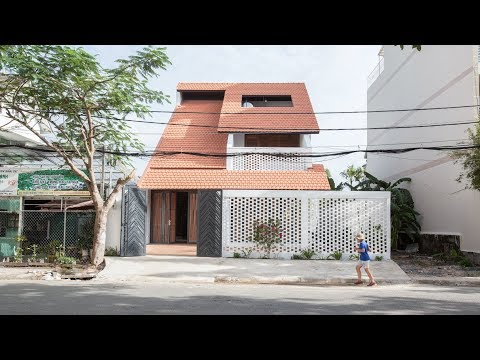 K59atelier's Tile Roof House takes cues from traditional Vietnamese homes