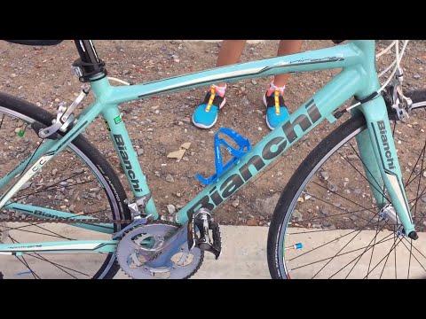 นักปั่นมือใหม่ จักรยานเสือหมอบ4รุ่น Specialized Bianchi Cannondale ปั่นที่บึงมะขามเทศ สวนวารีภิรมย์