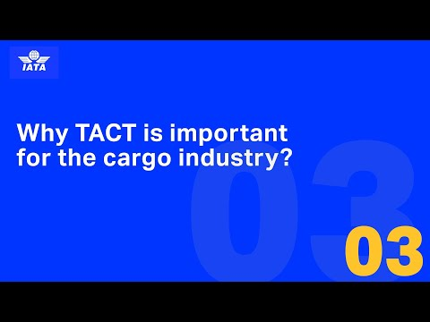 Why is IATA TACT important for the cargo industry?
