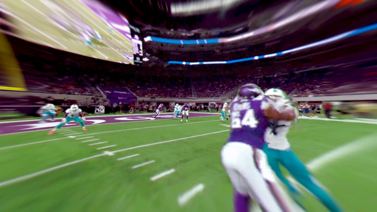 Intel freeD Offers New Views of Minnesota Vikings Touchdown (2017 NFL  Preseason) - YouTube