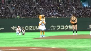 2014年三愛水着イメージガール久松郁実が8月30日のファイターズvsマリー...