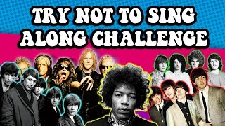 Try Not To Sing Along (Classic Rock Edition) Thumbnail