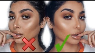 HOW TO AVOID CAKEY FOUNDATION! FLAWLESS MAKEUP I Nina Vee