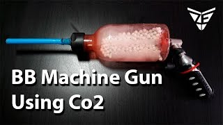 Mini Airsoft Machine Gun (Co2 full Auto BB Gun)