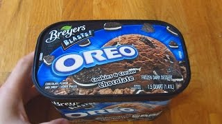 Breyers Ice Cream - Oreo Cookies and Cream Chocolate Flavor Thumbnail