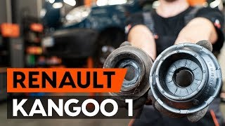 Hogyan cseréljünk Csapágyazás, kerékcsapágy ház RENAULT KANGOO (KC0/1_) - video útmutató