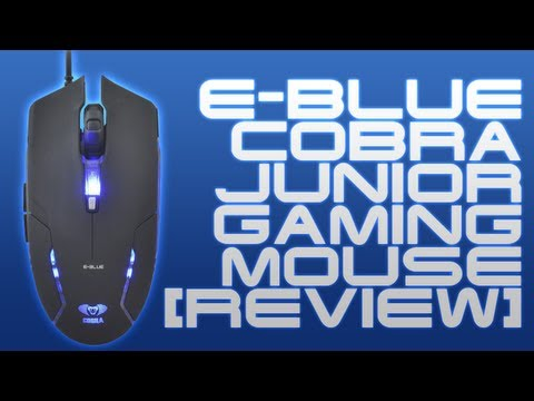 E-Blue Cobra Junior Gaming Mouse Review!