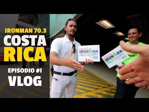 IRONMAN 70.3 COSTA RICA, Vlog #1