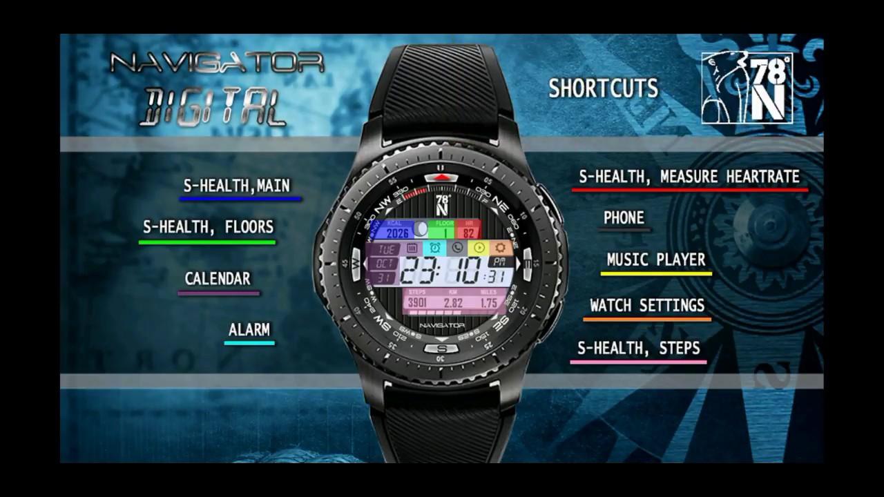 Samsung Gear S3/Gear Sport Digital watchface 78 Degrees N FREE Coupon  Giveaway! Jibber Jab Reviews!