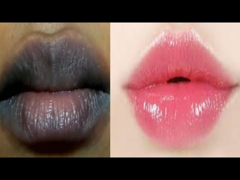PINK LIPS IN 2 MINUTES GET BABY SOFT PINK LIPS A HOME