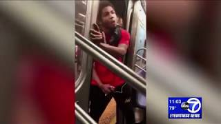 Man threatens Manhattan subway rider with knife
