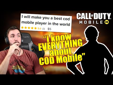 I Hired a 5 Star Call of Duty Mobile Coach and....