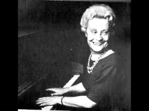 "Liszt - Transcendental Etude no. 11, ""Harmonies du soir"" - pianist Jeanne-Marie Darré"