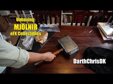 Unboxing: Thor Mjölnir - Official Prop Replica (eFX Collectibles)