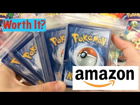 CAN WE TRUST AMAZON SELLERS?! – 4 Amazon Pokemon Card Random Assorted 50 Card Lots!!