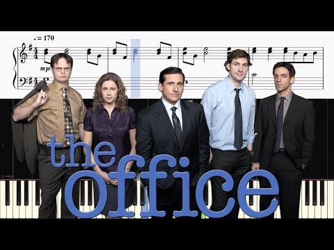 The Office Theme - EASY Piano Tutorial