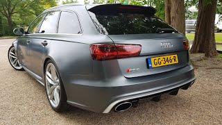 Audi RS6 Avant C7 - Start SOUND, Revs & Accelerations!