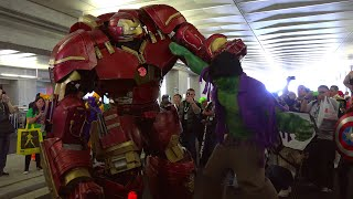 Hulkbuster Cosplay at NYCC 2015 by Extreme Costumes