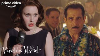 Midge is Horrified to See Her Dad in the Audience | The Marvelous Mrs. Maisel | Prime Video