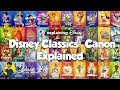 DISNEY CLASSICS CANON Explained (& why it's different in some countries)