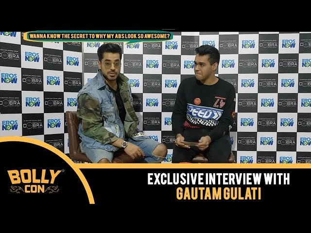 #GautamGulati #BollyCon Interview: Find out the secret to why his abs look so awesome!