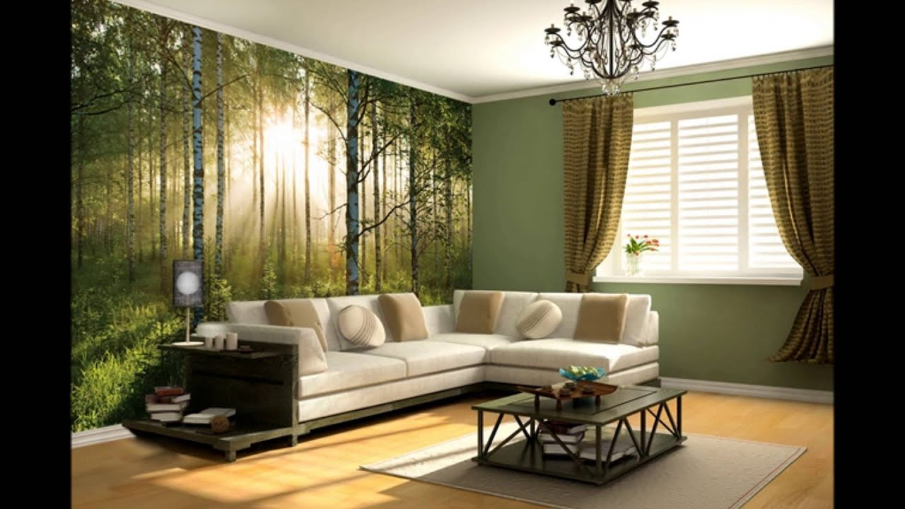 Forest Sunset Wall Mural Video WeSellWallMurals.com   YouTube