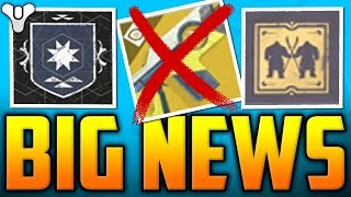 Destiny 2 BIG NEWS - Bungie F#%ked Up AGAIN ?! - (MAJOR FIXES, Faction Rally Cancelled, Iron Banner)