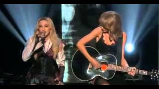 Madonna ft Taylor Swift - Ghosttown Live at iHeartRadio Music Awards 2015