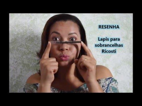 Lápis Delineador de Sobrancelhas - RICOSTI