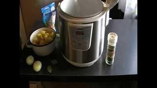 мой рецепт курица с картошкой в мультиварке ,блюдо с грибами,жаркое ►▬▬▬▬▬