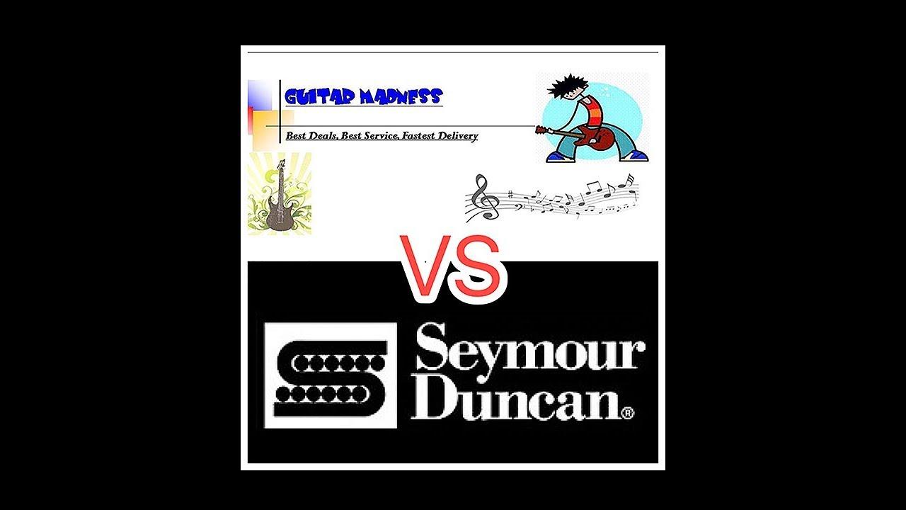 $35 eBay Guitar Madness set vs SD Hot Rodded set video Madness Guitar Humbucker Wiring Diagram on