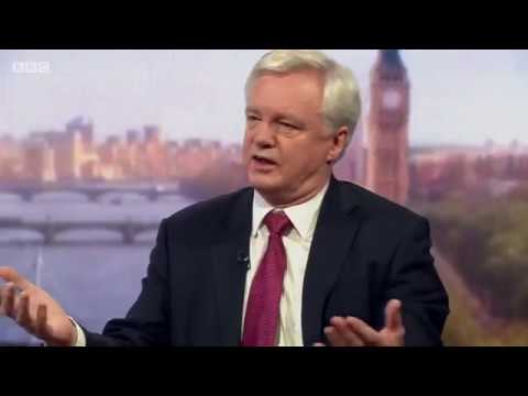 David Davis on EU citizens rights