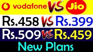 Video Reliance Jio Effect | Vodafone Launches 458 and 509 to Counter Jio's 399 and 459 | Data Dock download MP3, 3GP, MP4, WEBM, AVI, FLV Desember 2017