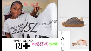 MASSIVE RIVER ISLAND SHOE HAUL!!!