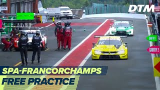 RE-LIVE | Free Practice - DTM Spa-Francorchamps 2020