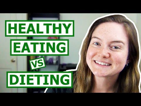 Healthy Eating vs Dieting | Dietitian Q&A