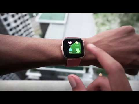 Fitbit Versa Review Best Fitbit Unboxing Video 2019