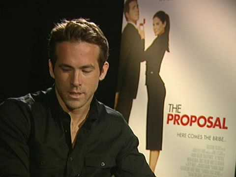 Ryan Reynolds The Proposal Interview Youtube