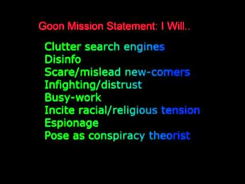 Cointelpro and how to recognize disinfo agents