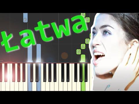 🎹 Im więcej Ciebie tym mniej (Natalia Kukulska) - Piano Tutorial (łatwa wersja) 🎹