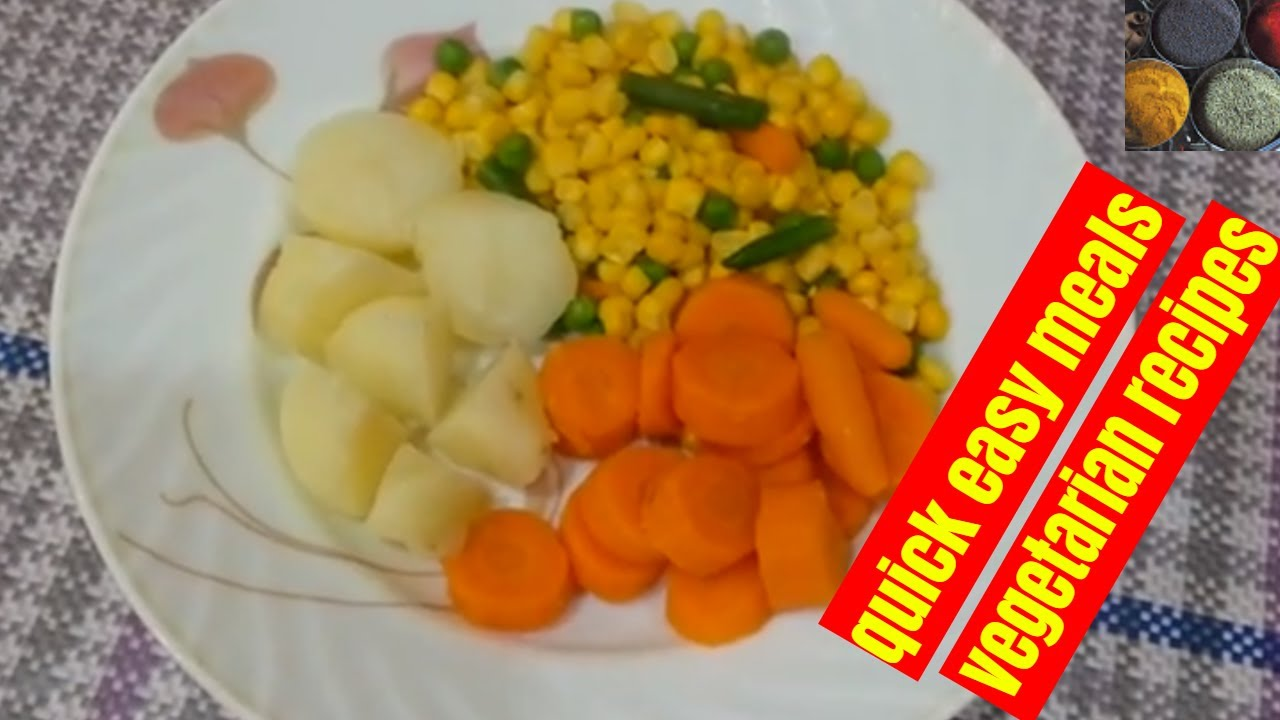 How To Boil Potatoes Potato Carrot Carrots Mixed Vegetables Healthy Loss Weight Diet Recipes Youtube