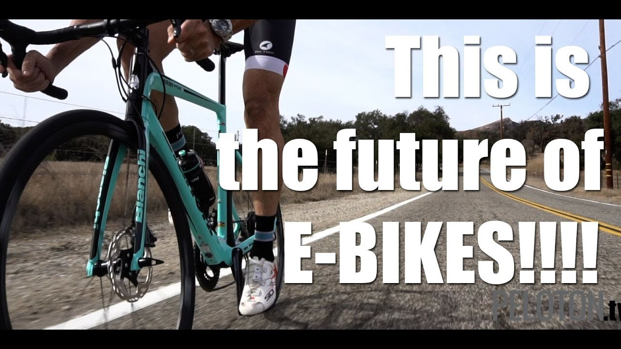 dd1fcf0a95b Stealth Electric  Bianchi Aria E Road Bike - YouTube
