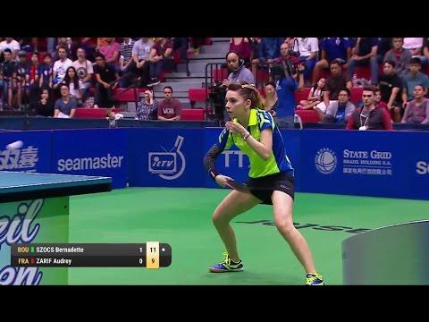 2017 Brazil Open (Ws-Final) SZOCS Bernadette Vs ZARIF Audrey [Full Match|HD]